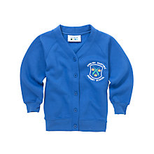 Buy English Martyrs' RC Primary School Girls' Cardigan, Royal Blue Online at johnlewis.com