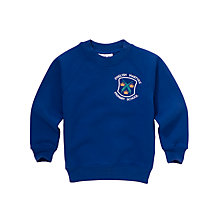 Buy English Martyrs' RC Primary School Unisex Sweatshirt, Royal Blue Online at johnlewis.com