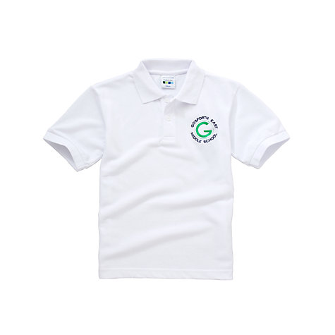 Buy Gosforth East Middle School Unisex Polo Shirt Online at johnlewis.com