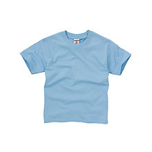 Buy School Unisex T-Shirt, Sky Blue Online at johnlewis.com