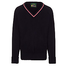Buy Westfield School Junior (Key Stage 2 Upwards) and Senior Girls' Jumper, Navy Online at johnlewis.com