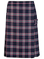 Westfield School Junior (Key Stage 2 Upwards) and Senior Girl's Tartan Kilt, Navy/Pink