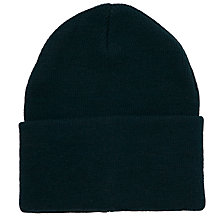 Buy School Ski Hat, Bottle Green Online at johnlewis.com