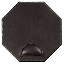 Buy John Lewis Faux Leather Mouse Pad, Brown Online at johnlewis.com