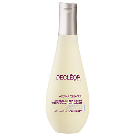 Buy Decléor Aroma Cleanse Relaxing Bath and Shower Gel, 400ml Online at johnlewis.com