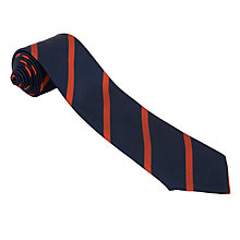 "Buy Eltham College Senior Boys' Chalmers House Tie, L45"", Navy/Red Online at johnlewis.com"