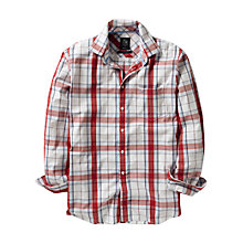 Buy Crew Clothing Overton Long Sleeve Check Shirt Online at johnlewis.com
