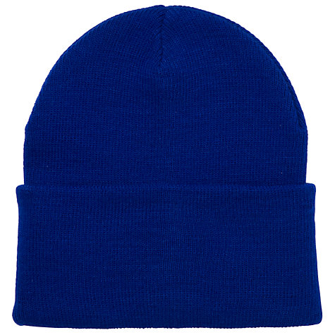 Buy School Unisex Ski Hat, Royal Blue Online at johnlewis.com