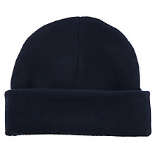 Buy School Unisex Ski Hat, Navy Online at johnlewis.com