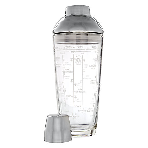 Buy John Lewis French Cocktail Shaker Online at johnlewis.com