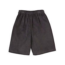 Buy Girls' School Cord Culottes, Grey Online at johnlewis.com