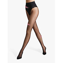 Buy Wolford Tummy Control 20 Denier Tights, Black Online at johnlewis.com