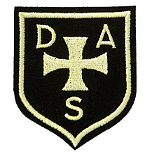 Buy Dame Allen Senior School Boys' Blazer Badge, Black/Yellow Online at johnlewis.com