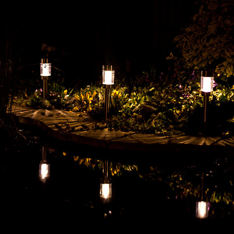 Buy John Lewis Salina Solar Outdoor Stake Lights, Set of 4 Online at johnlewis.com