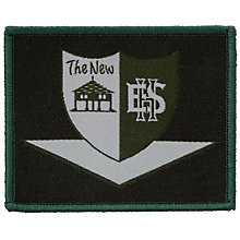 Buy New Eccles Hall School Blazer Badge, Multi Online at johnlewis.com