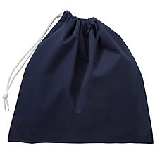 Buy School Shoe Bag, Navy Online at johnlewis.com
