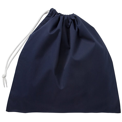Buy Blue School Shoe Bag Online at johnlewis.com