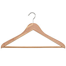 Buy John Lewis FSC Cedarwood Suit Hangers, Pack of 2 Online at johnlewis.com