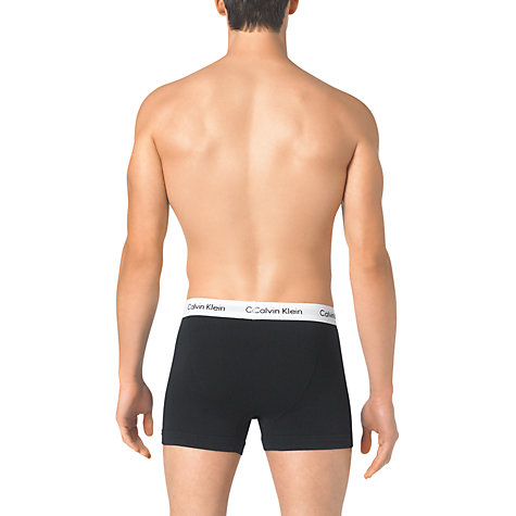 Buy Calvin Klein Underwear CK One Stretch Cotton Trunks Online at johnlewis.com