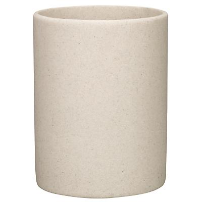 John Lewis Dune Bathroom Bin, Sandstone