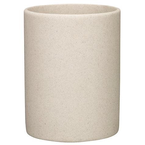 buy john lewis dune bathroom bin sandstone john lewis. Black Bedroom Furniture Sets. Home Design Ideas