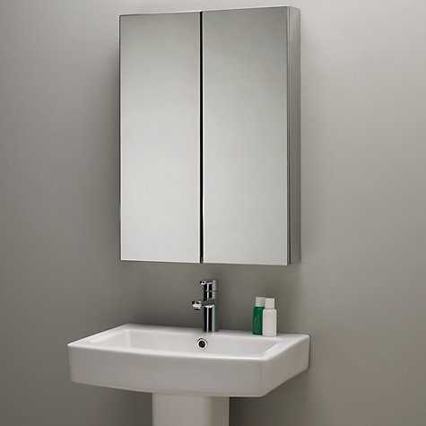 Buy roper rhodes shine double mirrored bathroom cabinet john lewis John lewis bathroom design and fitting