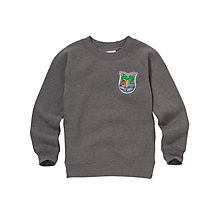 Buy Abbotswell Primary School Unisex Sweatshirt, Grey Online at johnlewis.com