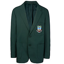 Buy Cults Academy School Boys' Blazer, Bottle Green Online at johnlewis.com