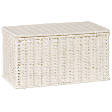 Buy John Lewis White Rope Storage Box Online at johnlewis.com