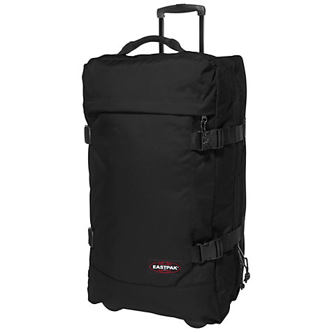 Buy Eastpak Transfer 2-Wheel Holdall, Black Online at johnlewis.com
