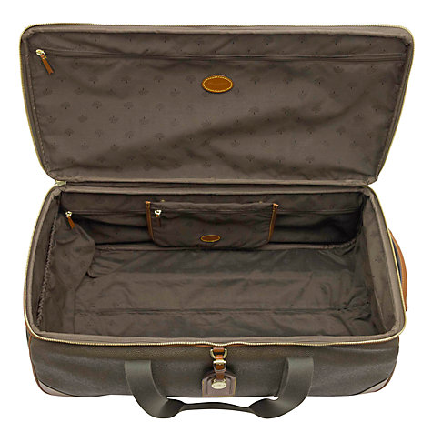 Buy Mulberry Scotchgrain Albany Wheeled Duffle Bag Online at johnlewis.com