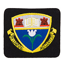 Buy Harlaw Academy Unisex Blazer Badge, Black Multi Online at johnlewis.com