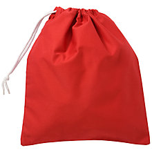 Buy School Shoe Bag, Red Online at johnlewis.com