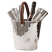 Culinary Concepts Leather Handled Wine Cooler