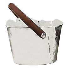 Buy Culinary Concepts Bar Leather-Handled Ice Bucket Online at johnlewis.com