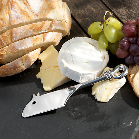 Buy Culinary Concepts Polished Knot Mouse Cheese Knife Online at johnlewis.com