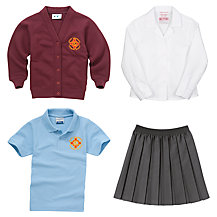 St Columbas RC Primary School Girls' Uniform