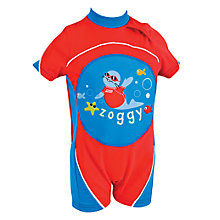 Buy Zoggs Swimfree Float Suit, Red Online at johnlewis.com