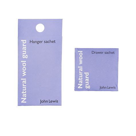 Buy John Lewis Anti-Moth Wool Guard Sachets, Wardrobe and Drawer Online at johnlewis.com