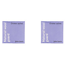 Buy John Lewis Natural Wool Guard Drawer Sachets, Set of 2 Online at johnlewis.com