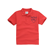 Buy Phoenix Infant and Nursery School Unisex Polo Shirt, Red Online at johnlewis.com