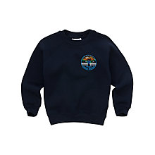 Buy Priory Junior School Unisex Sweatshirt, Navy Blue Online at johnlewis.com