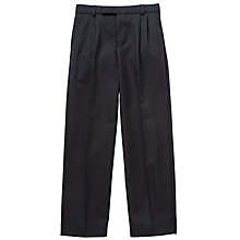 Buy Thomas's Boys' Years 3-8 Trousers, Navy Online at johnlewis.com