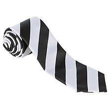 Buy Nottingham High School Junior Tie, Black/White Online at johnlewis.com