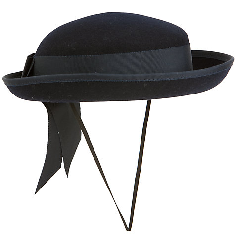 Buy School Girls' Felt Hat, Navy Online at johnlewis.com
