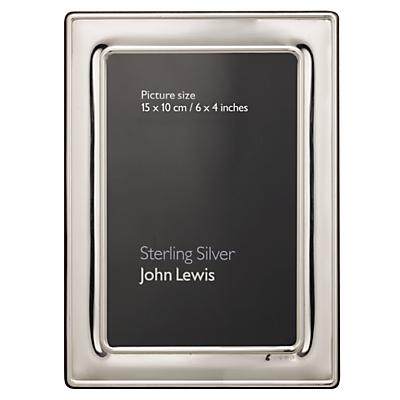 John Lewis Sterling Silver Photo Frame
