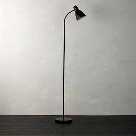 Buy John Lewis The Basics Brandon Floor Lamp, Black Online at johnlewis.com