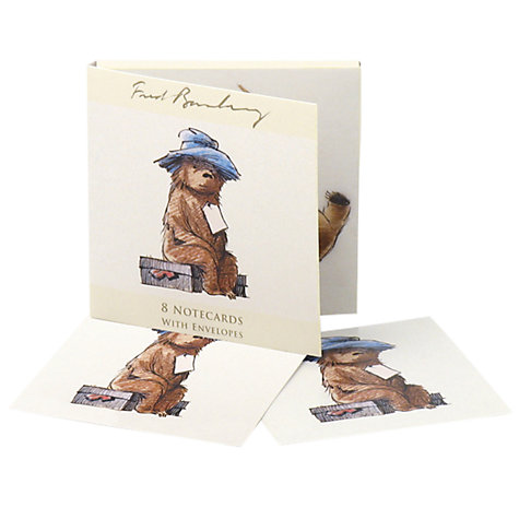 Buy Museums & Galleries Paddington On a Suitcase, Pack of 8 Online at johnlewis.com