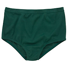 Buy School Cotton Games Brief, Pack Of Two Online at johnlewis.com