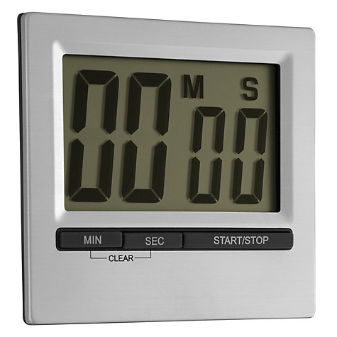 Buy John Lewis Easy To Read Kitchen Timer, Large Online at johnlewis.com